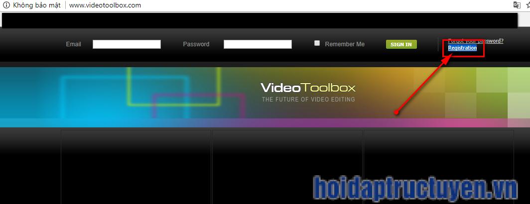ghép video online bằng vidoetoolbox