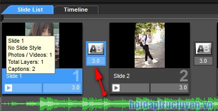 Làm video bằng hìn ảnh với phần mềm proshow producer