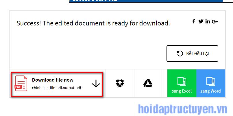 cách chỉnh sửa file pdf trực tuyến