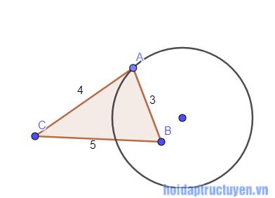 RE: Những dấu hiệu nhân biết tiếp tuyến đường tròn ?