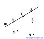 Giải toán lớp 6 – Phần hình học – Bài 1 - Điểm. Đường thẳng