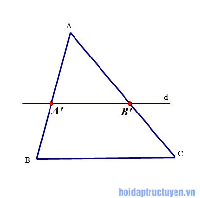 hai tam giác đồng dạng