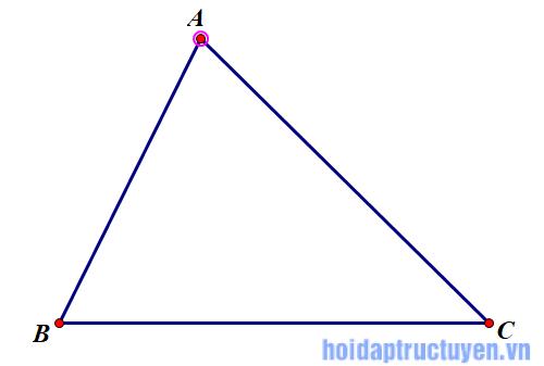 bâc đẳng thức trong tam giác