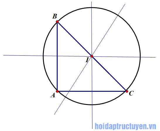 đường trung trực của đoạn thẳng