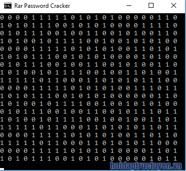 phá password winrar