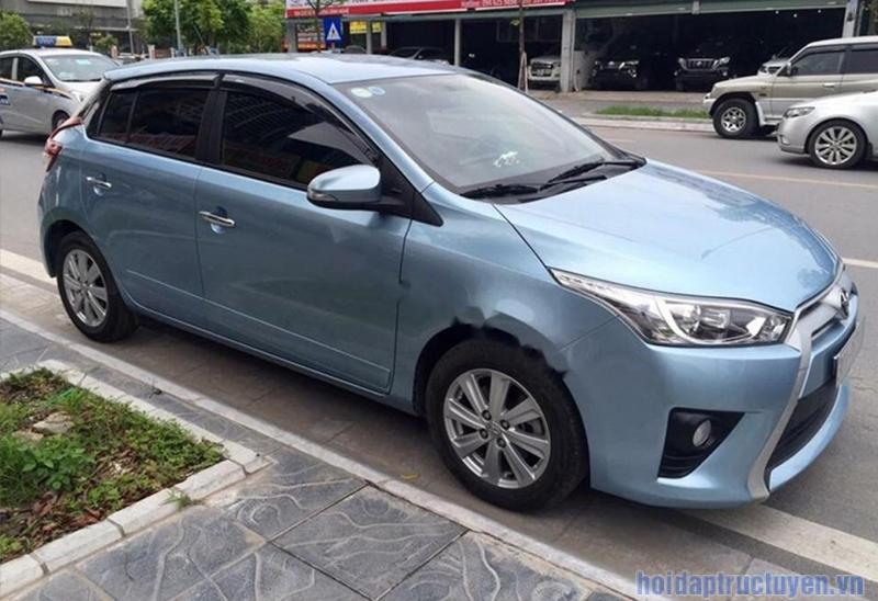 Khả năng tiết kiệm xăng của Toyota Yaris cũ 2014 cũng rất đáng nể