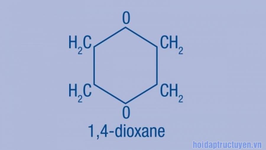1,4-dioxane trong mỹ phẩm