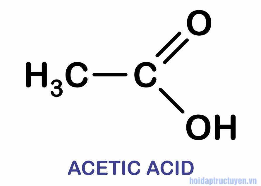 Acetic acid trong mỹ phẩm
