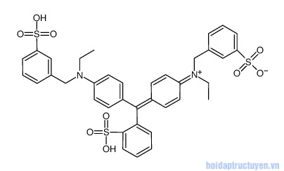 Acid Blue 9 trong mỹ phẩm